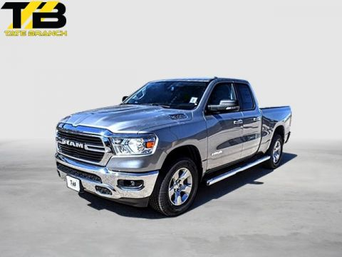 New 2019 Ram 1500 BIG HORN 4X2 QUAD CAB 6'4 BOX
